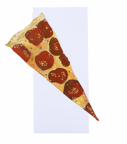 Thimblepress - Pizza Slice Single Greeting Note Card