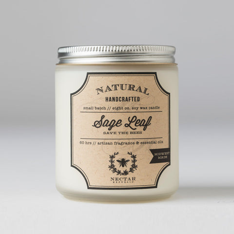 Nectar Republic - Sage Leaf : Candle