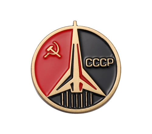 CCCP Space Flight Pin