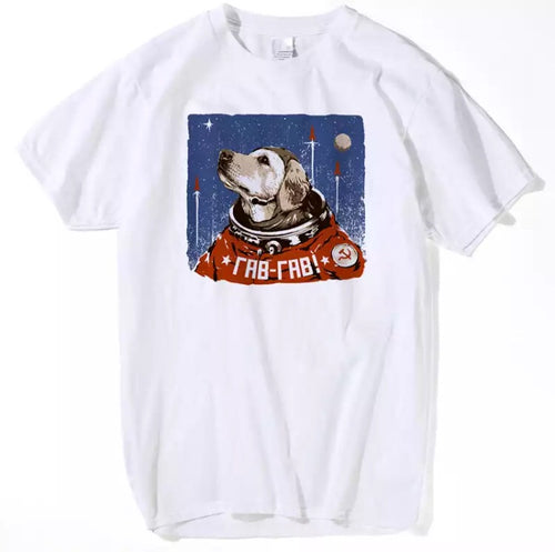 CCCP First Dog In Space T-Shirt