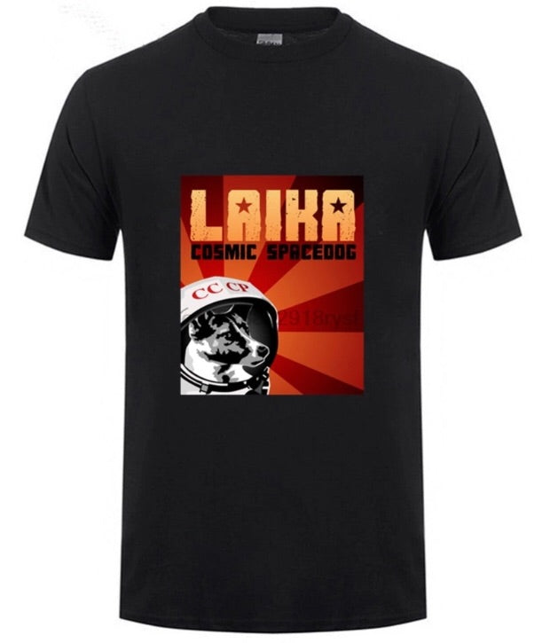 Laika Cosmic Spacedog T-Shirt
