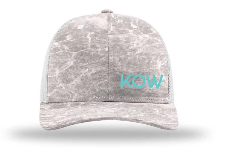 KOW Richardson 112 Hat - Mossy Oak / Bone Fish Camo