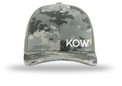 KOW Richardson 112 Hat - Mossy Oak Green Digital Camo