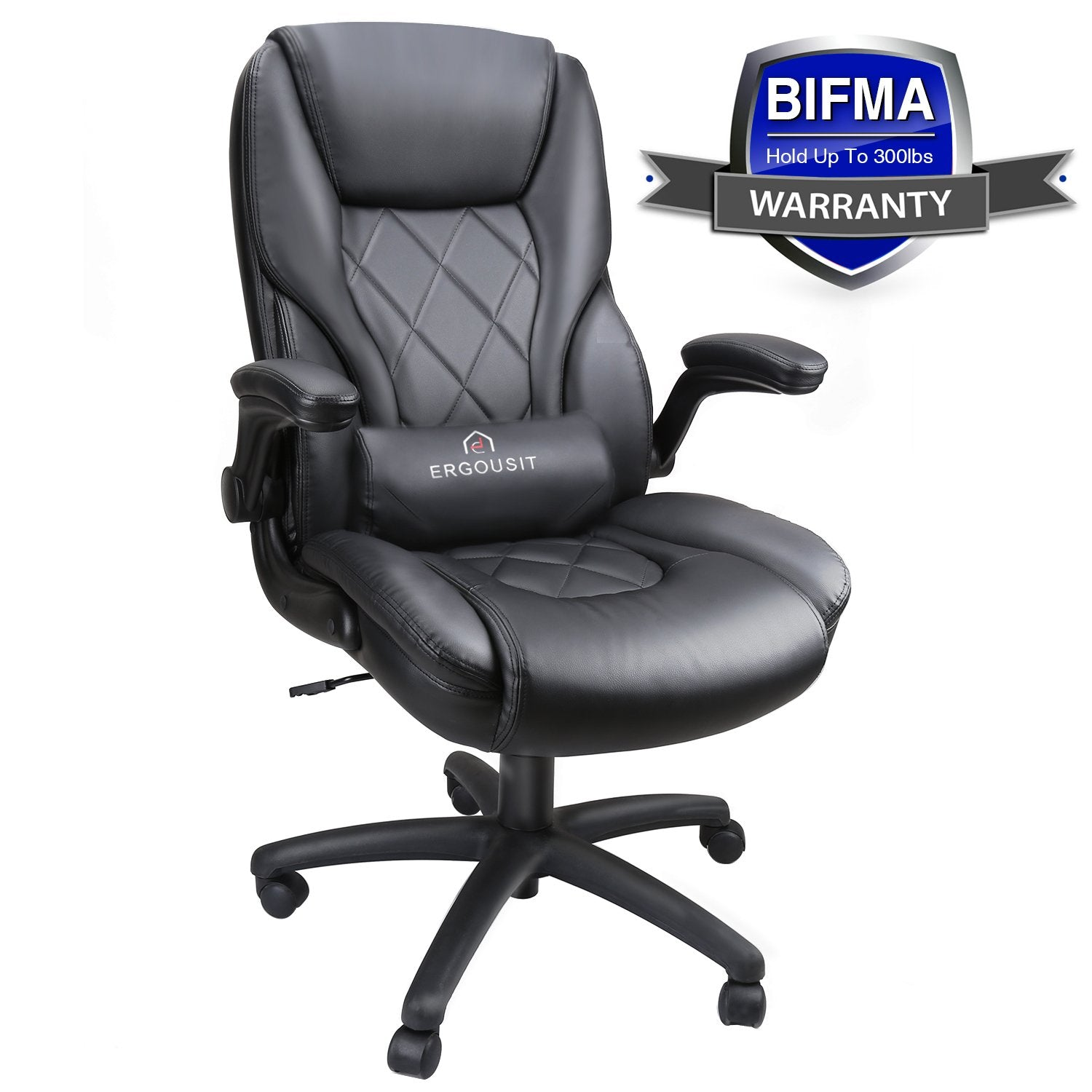 Peachy Executive Office Chairs High Back Racing Style Task Chair Adjustable Computer Desk Chairs With Lumbar Support Leather Black For Office Room Decor Ibusinesslaw Wood Chair Design Ideas Ibusinesslaworg