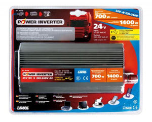 Convertitore di potenza 700 W 24V> 220V - truck-shopping.it