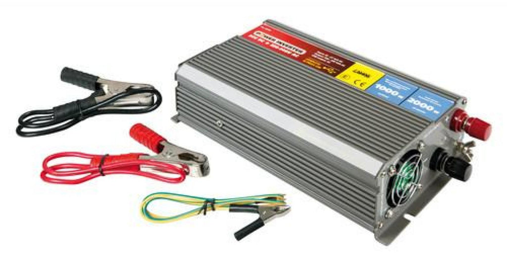 Stromumwandler 1000 W 24V > 220V - truck-shopping.it