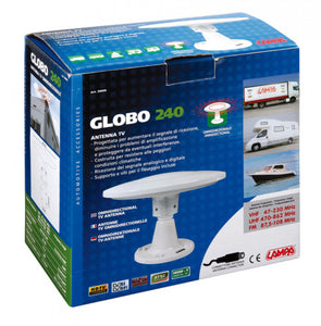 Globo 240 TV Antenne Ø 240 mm - truck-shopping.it