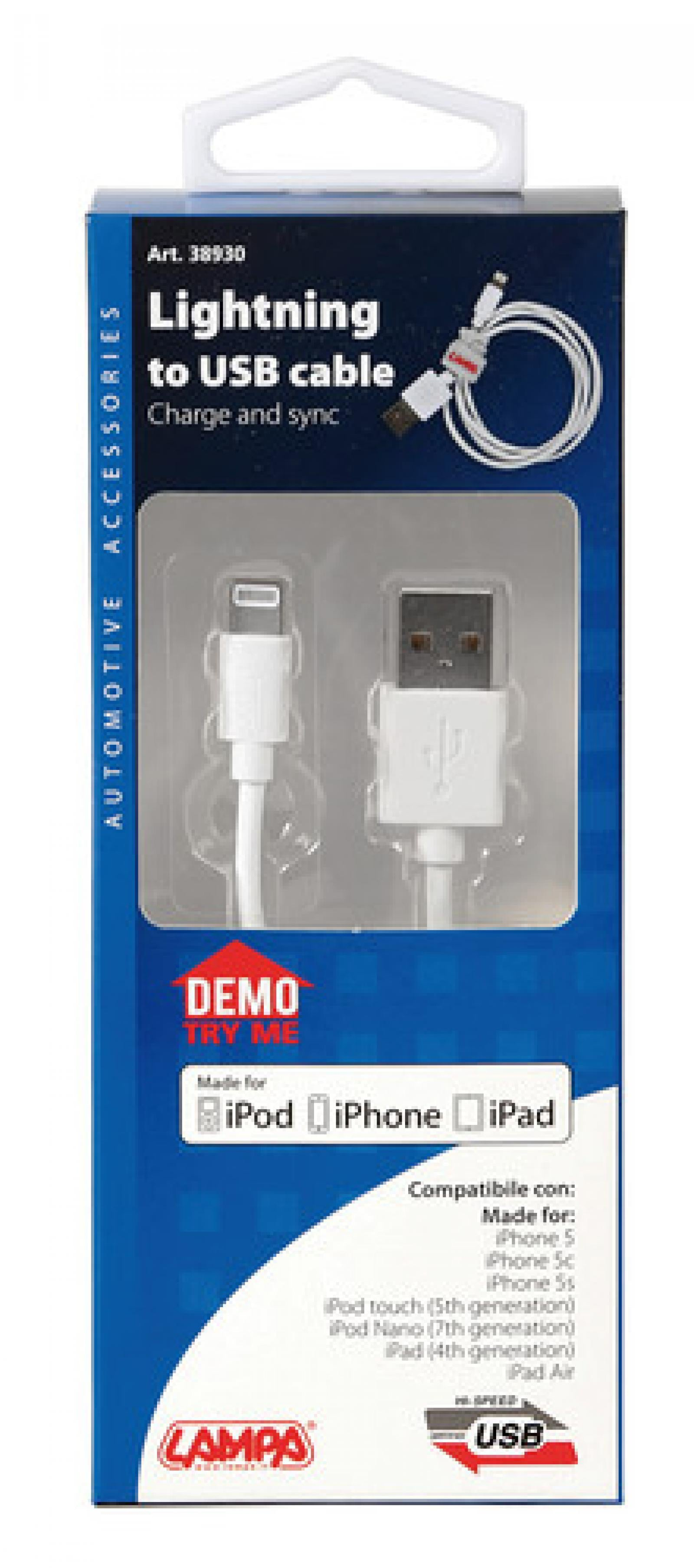 USB-Lightning, adatto per dispositivi Apple con 8 PIN - truck-shopping.it