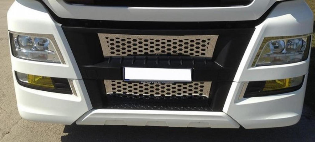 "Frontgrill mit ""Wabenstyle - truck-shopping.it"