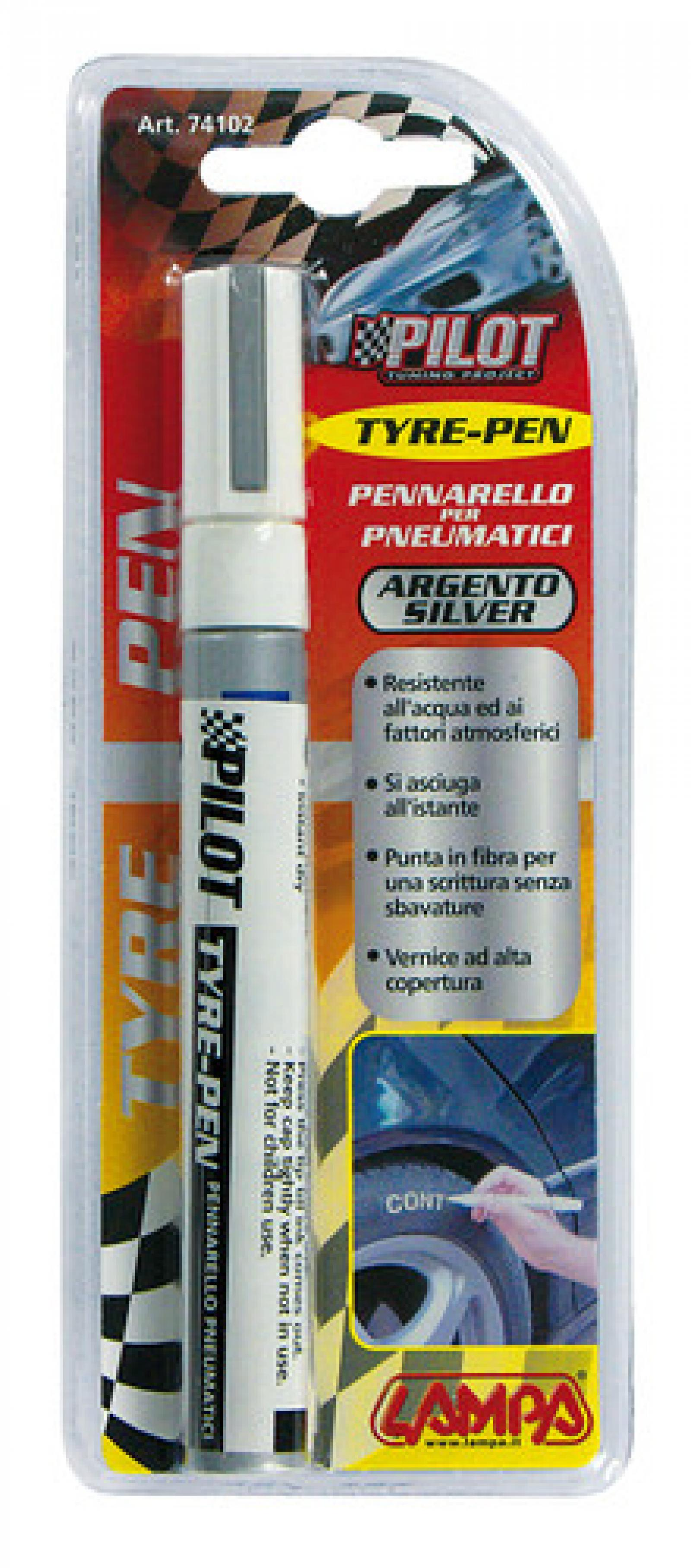 Spillo pneumatico argento - truck-shopping.it