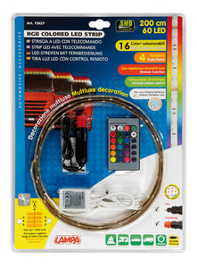 Striscia LED RGB, 12 / 24V - 200 cm - truck-shopping.it