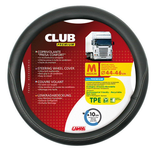 Lenkradbezug Club Premium M 44-46 cm - truck-shopping.it