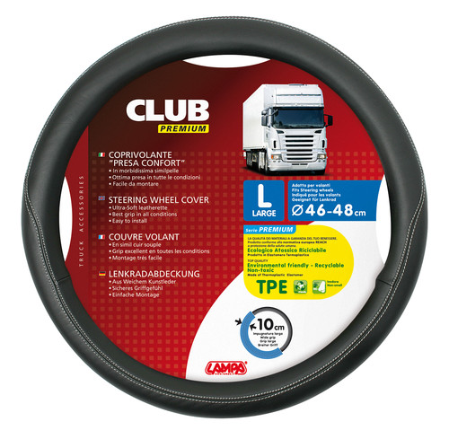 Coprivolante Club Premium L 46-48 cm - truck-shopping.it
