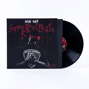 "SHA HEF ""Super Villain"" VINYL LP"