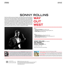 "Load image into Gallery viewer, SONNY ROLLINS ""Way Out West"" VINYL LP"