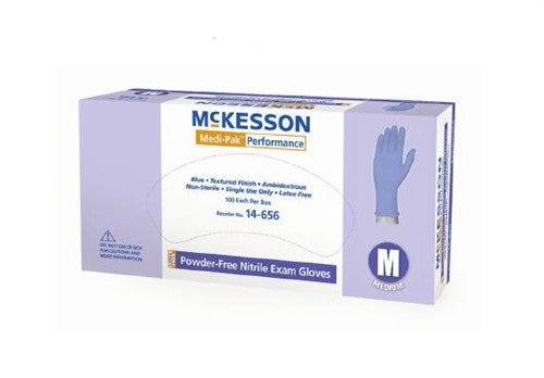 McKesson - Exam Glove Medi-Pak™ Performance Nitrile Gloves