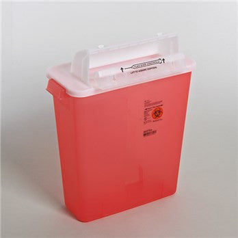 Covidien - SharpStar™ In-Room™ Sharps Container with Counter Balanced Lid (3 Gallon)