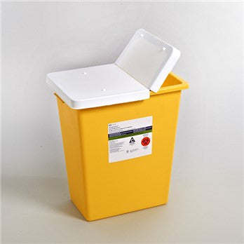 Kendall 8985 - 8 Gallon ChemoSafety™ Chemotherapy Waste Container