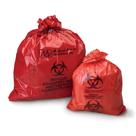 Infectious Waste Bag - ULTRA-TUFF™ 24 X 24