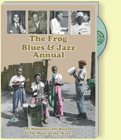 Latest releases     Frog Records: Jazz/Blues music