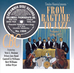 From Ragtime To Jazz Vol 4 1896-1922