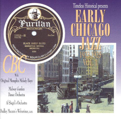 Early Chicago Jazz Vol 1    1923-1925