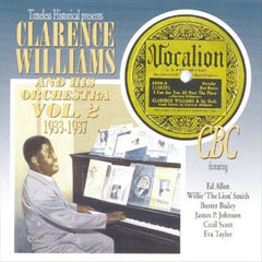 Clarence Williams & His Orchestra Vol. 2 1933-1937  Double Cd