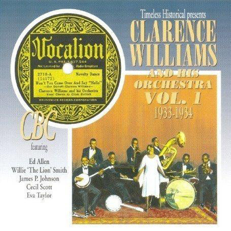 Clarence Williams & His Orchestra Vol. 1 1933-1934  Double Cd
