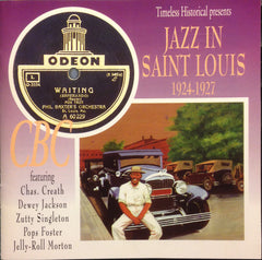 Jazz In Saint Louis   1924-1927