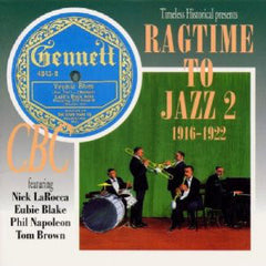 Ragtime To Jazz 2   1916-1922