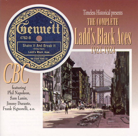 The Complete Ladd's Black Aces  1921-1924  Double CD