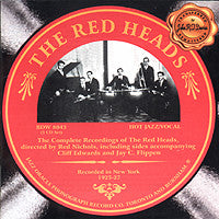 The Red heads  The Complete Recordings 1925-27  3 CD set