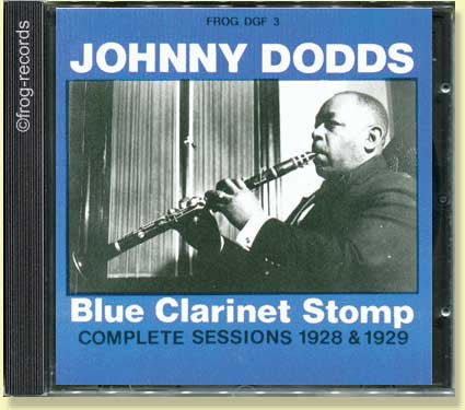 Johnny Dodds: Blue Clarinet Stomp