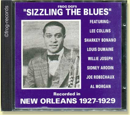 New Orleans 1927-29: Sizzling the Blues