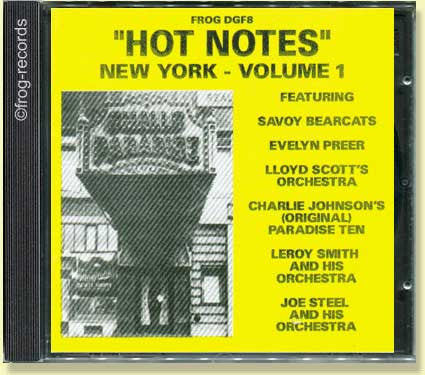 New York Volume 1: Hot Notes