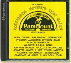 Paramount Recordings 1926-28: Alexander, Where's that Band?