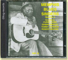 Memphis Blues Singers Vol 2