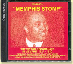 The Victor Recordings in Memphis 1927-30: Memphis Stomp