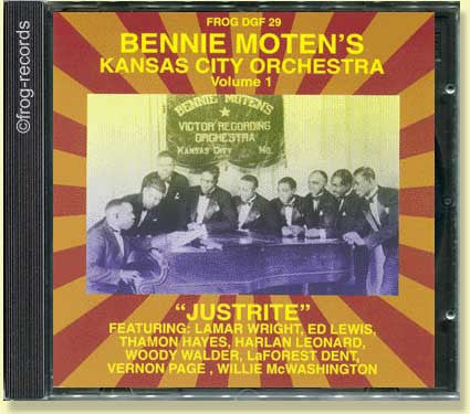 Bennie Moten's Kansas City Orchestra Volume 1