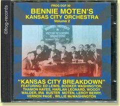 Bennie Moten's Kansas City Orchestra Volume 2
