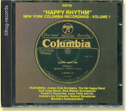 Happy Rhythm : N.Y. Columbia Recordings 1
