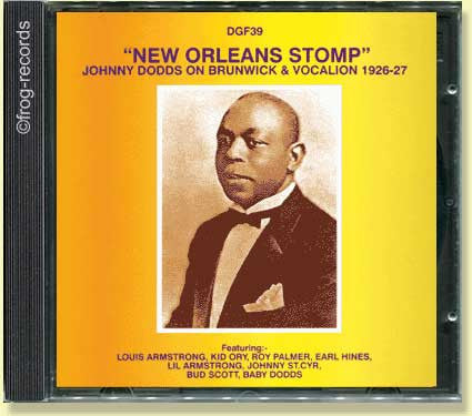 Johnny Dodds 1926-27: NewOrleans Stomp