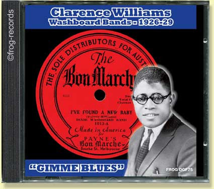 Clarence Williams Washboard Bands 1926-29