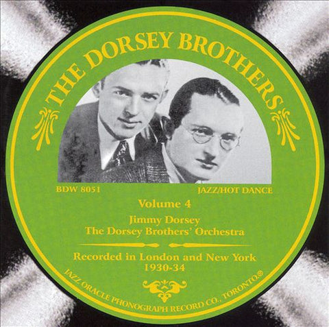 The Dorsey Brothers  Volume 4 1930-34