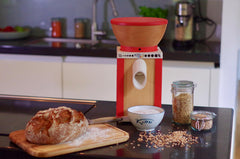 Komo Grain Mill in Kitchen
