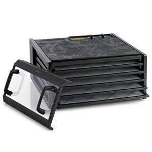 Excalibur 3526 Clear Door Dehydrator Black
