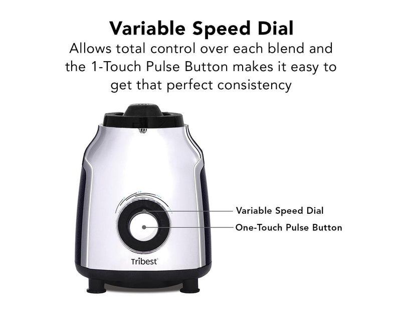Tribest Glass Personal Blender Control Dial