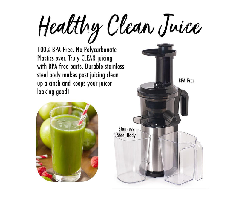 Tribest Shine Vertical Juicer
