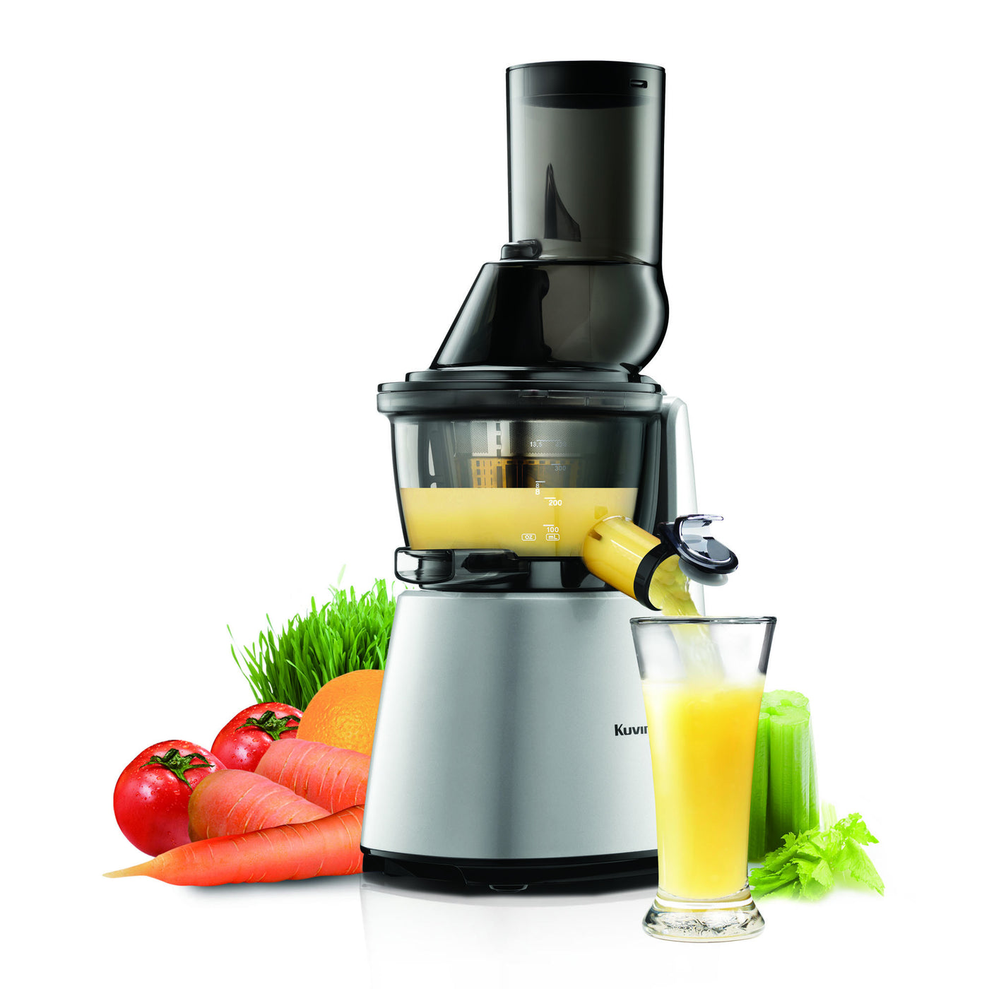 Kuvings Whole Slow Juicer Elite C7000 Silver : Kuvings Elite Whole Slow Juicer C7000 Juicerville