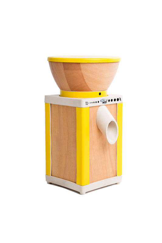 Komo Mio Grain Mill - Yellow